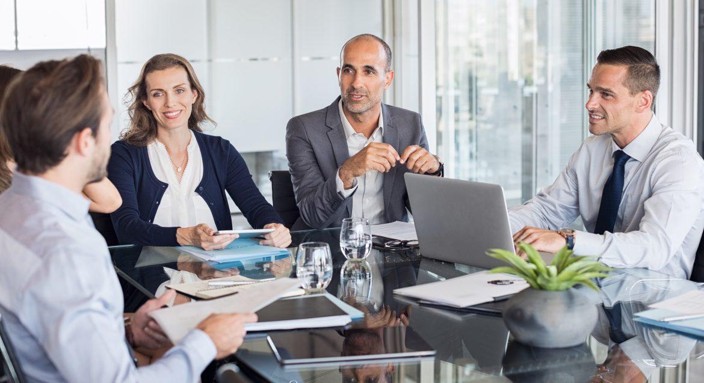 Møte med styret for å snakke om selskapsledelse og eierstyring