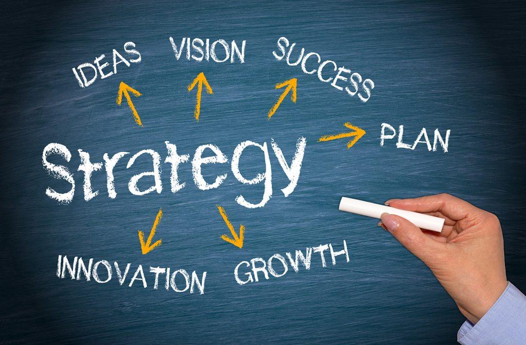 strategi er å gjøre de riktige tingene, mens taktikk er å gjøre tingene riktig