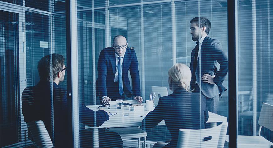Styremøtet avholdes med styremedlemmer av styret i datterselskapet