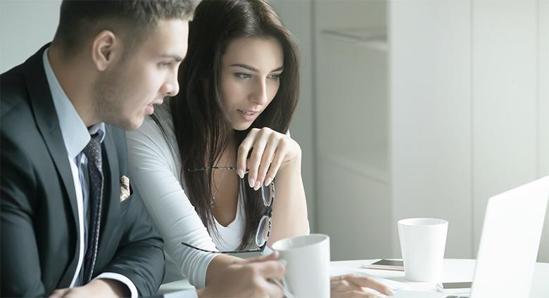 Illustrerer forholdet mellom kunde og selger